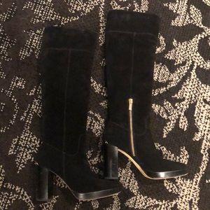Knee high Michael Kors suede boots